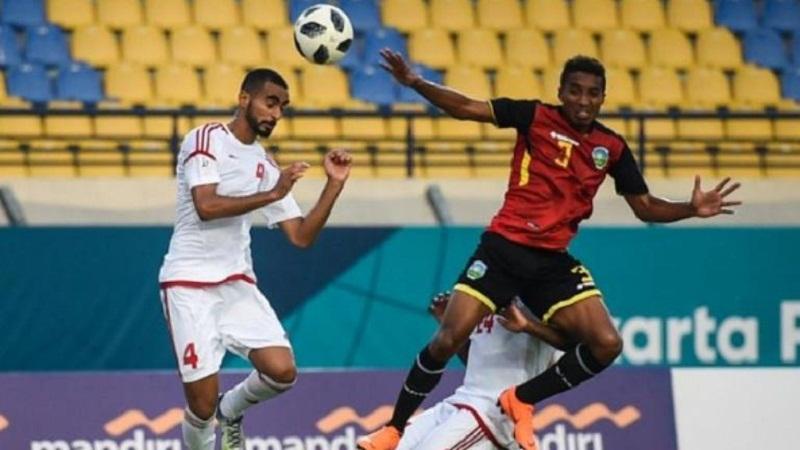 Destake: Timor Leste vs Suriah Syriah Goals Asian games 19/08/2018