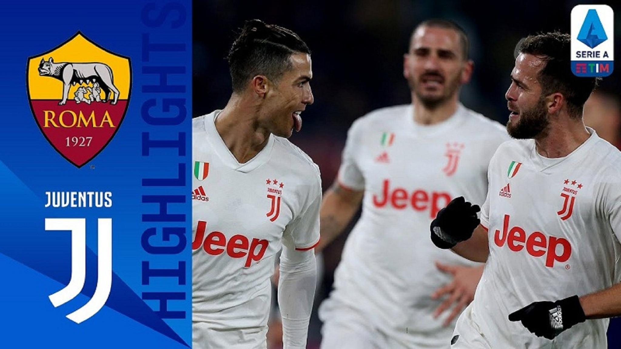 Roma vs Juventus   Serie A 13 Jan 2020
