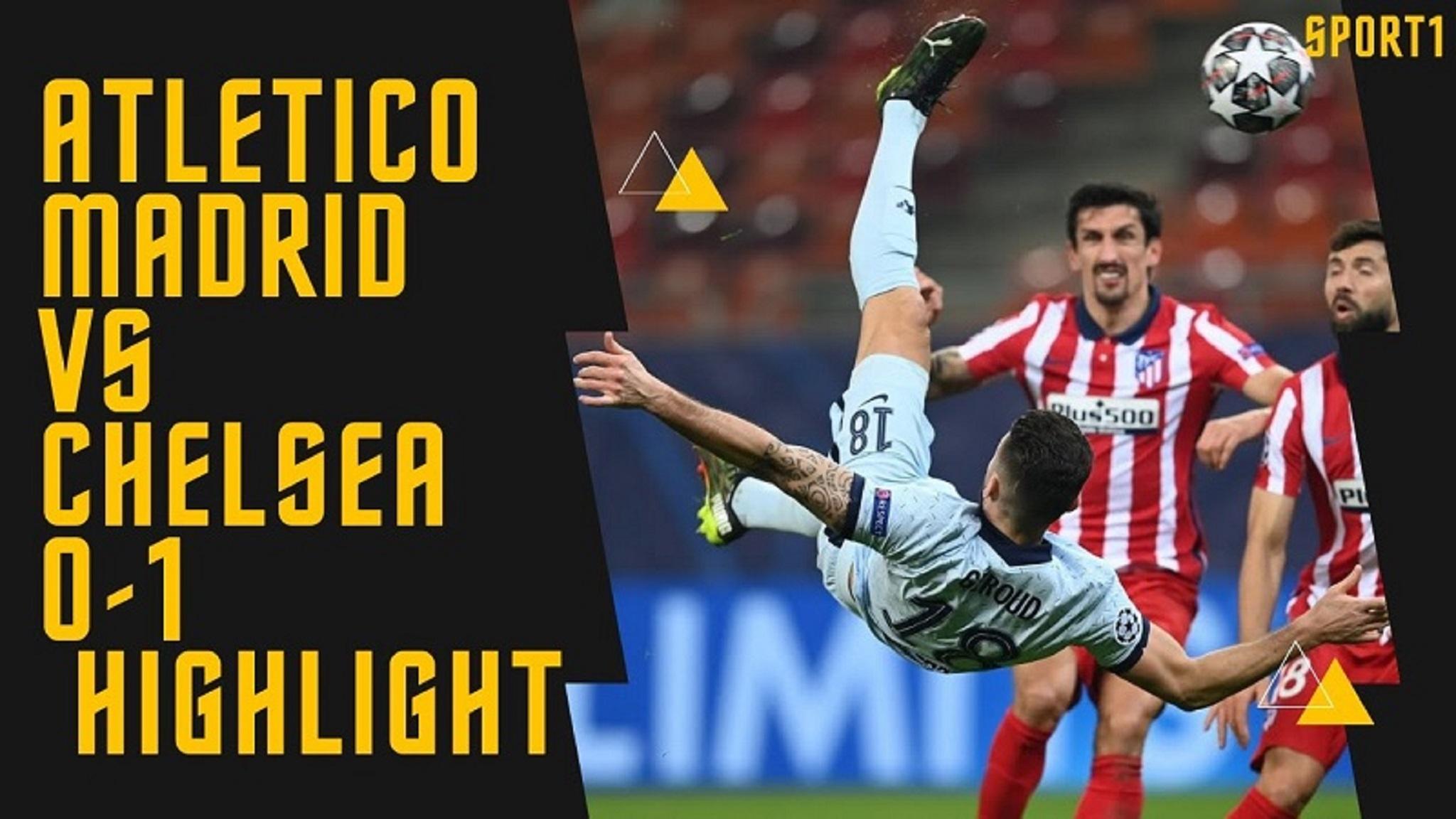 Highlights Atletico Madrid vs Chelsea | UCL 24 Feb 2021