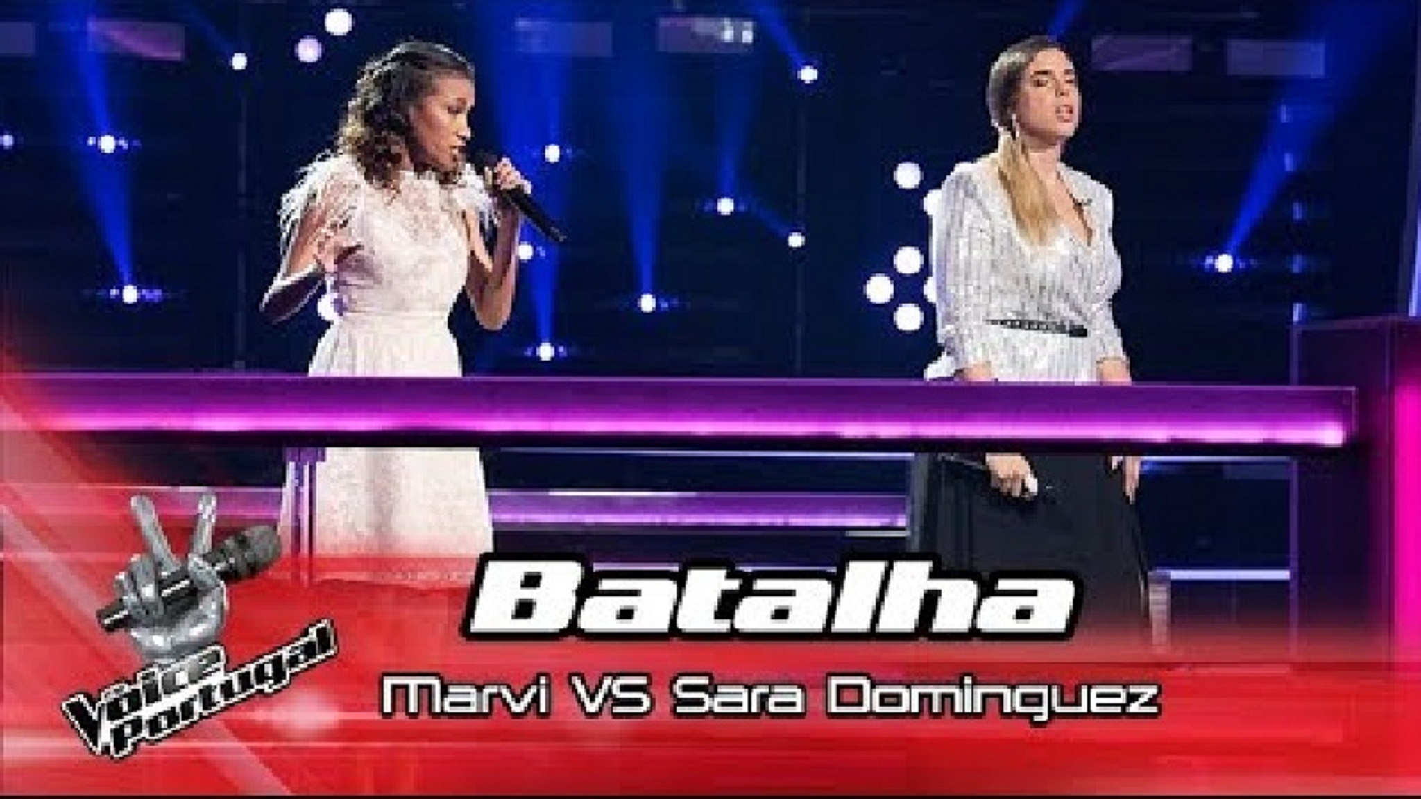 "Marvi VS Sara Dominguez - ""Listen"" | Battle | The Voice Portugal"